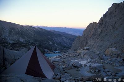Palisades Glacier Camp