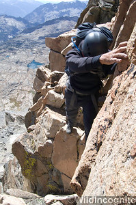 Climbing North Palisade