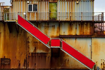 Dock at Stanley, East Falklands