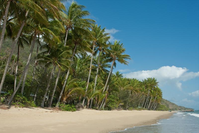 Ellis Beach, near Cairns, Queensland, Australia