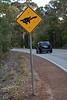 Turtle Crossing sign, Western Australia