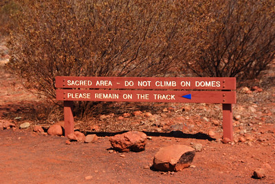 We finally arrived at Kata Tjuta around 1pm. When we stepped off the bus it was like stepping into an oven. Hot. It was so, so hot. We walked out into the rocks for about an hour or so, and the heat was just so oppressive. But the site is amazing.