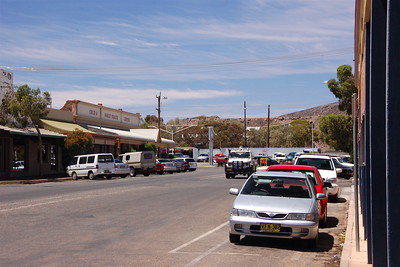 The streets of Broken Hill.