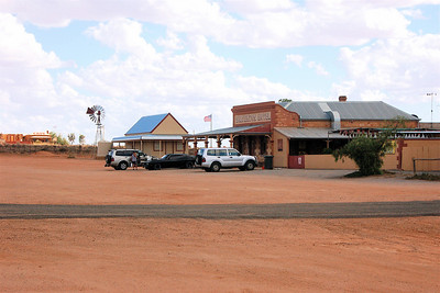 The Silverton Hotel, a local watering hole, has been in a number of movies including Mad Max II.