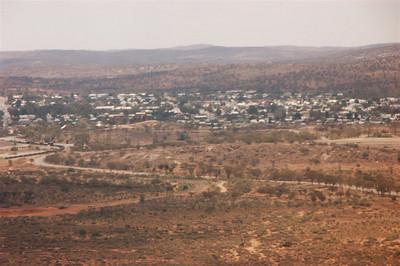 First sight of Broken Hill.