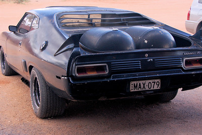 One of the Mad Max cars.
