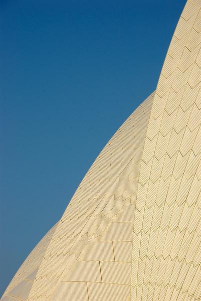 Detail of Sydney Opera House
