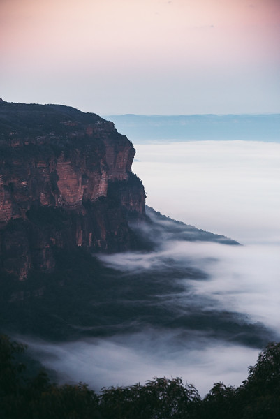 Misty Morning in the Blue Mountains National Park
