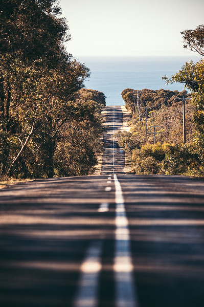 Up and Down on the Great Ocean Road