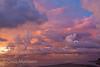 Dramatic sunset, Sabah, Borneo
