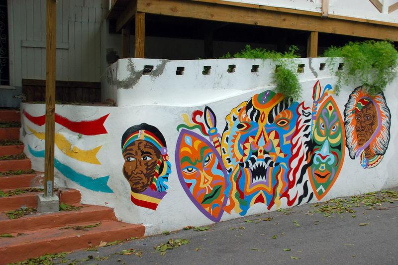 Cool wall art.
