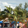 Coco Cay's own little straw market.