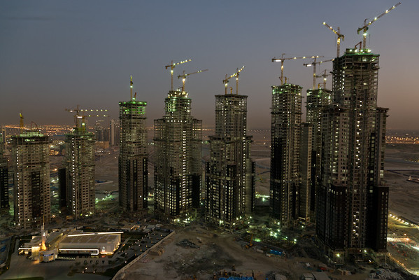 Business Bay development, Dubai, UAE