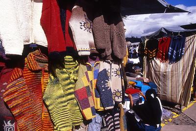 Saturday market at Otavalo