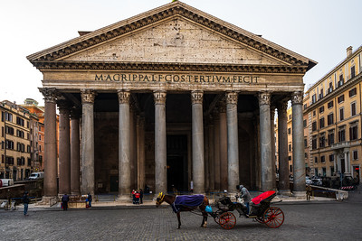 My favorite building in the whole world, the Pantheon