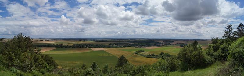 Mont Lassois panorama