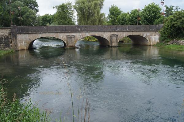 La Seine river in Vix