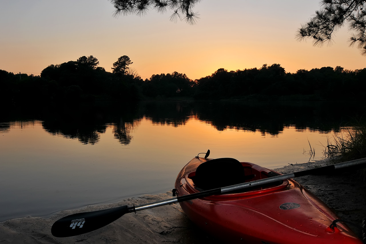 May 30th,  Spent the weekend camping with some friends.  We had a great time.  This is one photo from our campsite.   Even got to take the Kayaks out for some photos of the Blue Heron, and Egrets.  Good times.