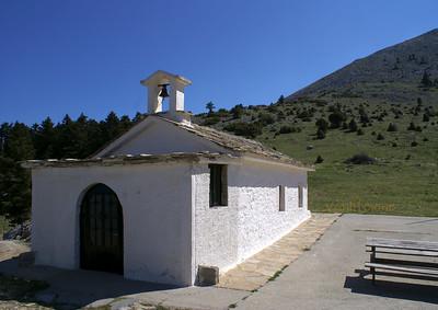 Profitis Ilias chapel