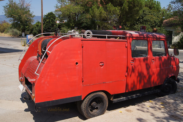 Opel Blitz fire fighting vehicle