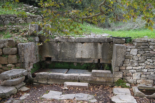 Ancient fountain of Phigaleia