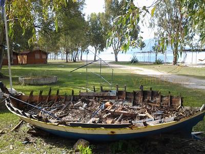 Campsite near Sagiada