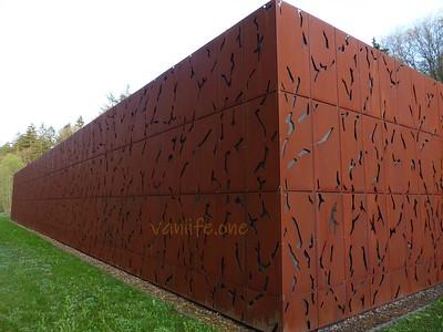 Corten steel building
