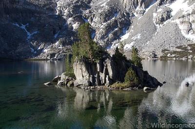 Rae Lake Island