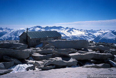 Summit Hut on Mount Whitney