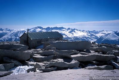 Summit Hut on Mount Whitney