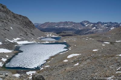 Lakes Below Diamond Mesa