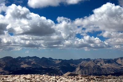 Mount Whitney Summit Veiw
