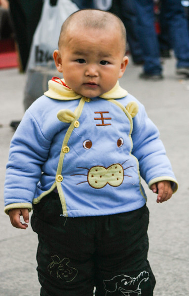 Chinese Baby in Shanghai
