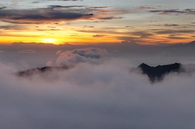 View from Gunung Batur