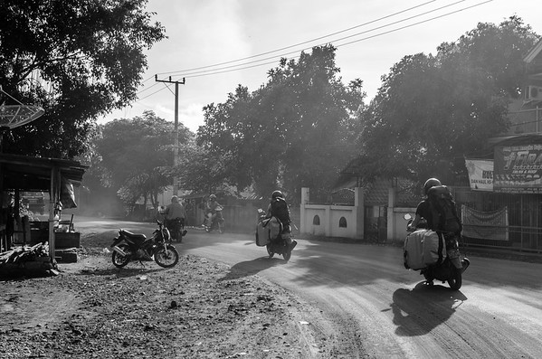 Things carlessly left behind along the road. After every corner a world to explore arises. When even a lifetime is not enough how can just passing by do it justice?