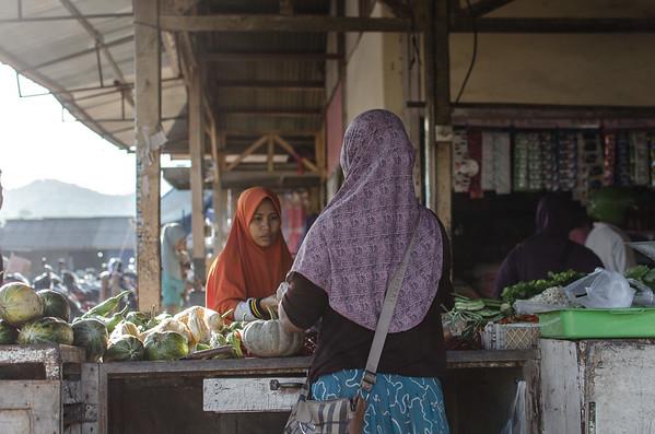 Food Market of Maluk