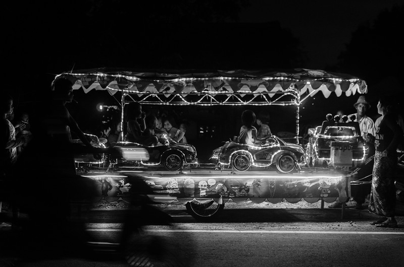 A carousel to go.