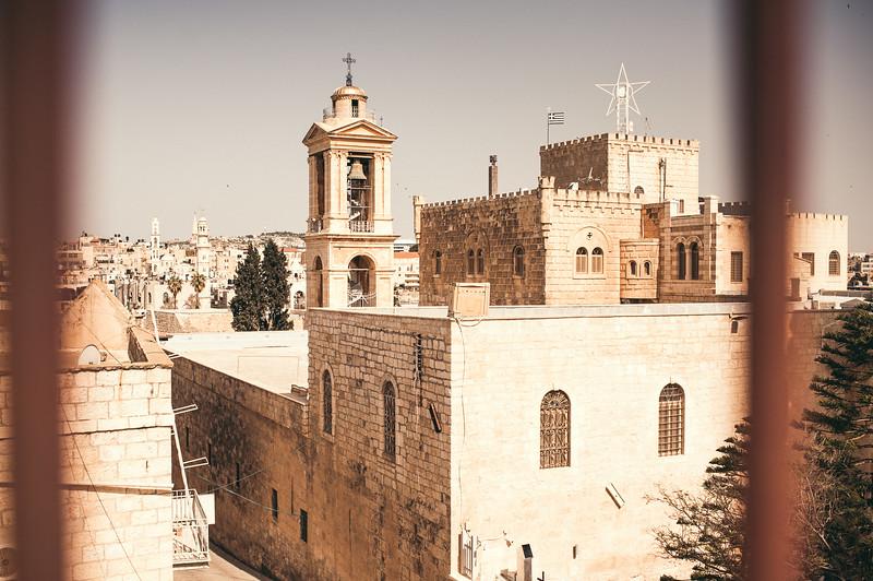 Church of the Nativity in Bethlehem.