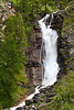 Waterfall at Tignet, Valsavarenche, Italian Alps.