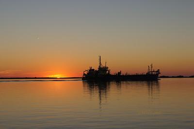 Huelva sunset