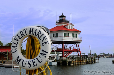 Drum Point Lighthouse, Solomons, MD