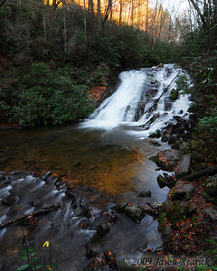Indian Creek Falls,  Deep Creek, NC  Map of hike:   http://maps.google.com/maps/ms?hl=en&ie=UTF8&msa=0&msid=104053193349078639589.0004793a091e4f8996e5e&z=16