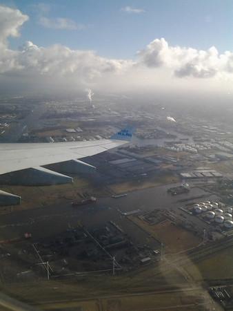 KLM flight to Muscat Oman