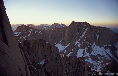 Ridge to Mount Russell Mount Whitney