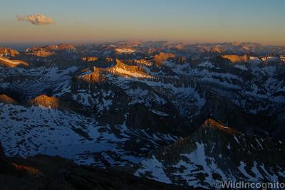 High Summit Sunset North Palisade