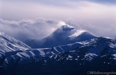 Winter Storm Clouds Sierra Nevada