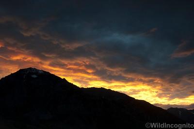 Mount Tom Sunset Owens Valley