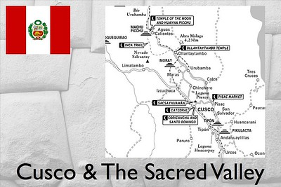 Cusco & The Sacred Valley of the Incas are full of history and interesting sites. We only explored a few before our trek.