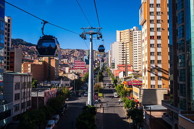 Which brings us to one of La Paz's unique features: a public transportation system composed of a network of gondolas