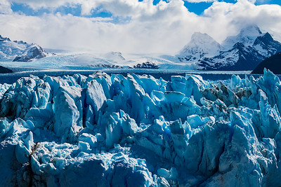 Antarctic glaciers are not nearly as active